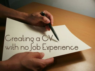 Creating a CV with no Job Experience</a>