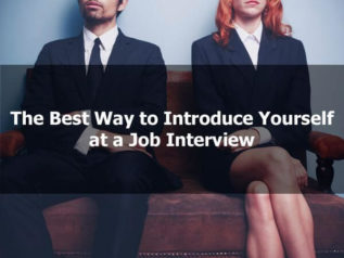 The Best Way to Introduce Yourself at a Job Interview</a>