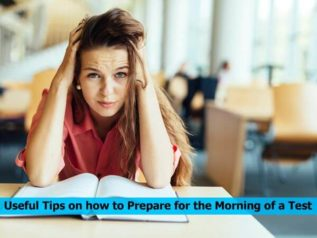 Useful Tips on how to Prepare for the Morning of a Test</a>